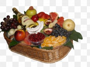 Fruits Basket - Fruit Food Gift Baskets Auglis Vegetarian Cuisine PNG