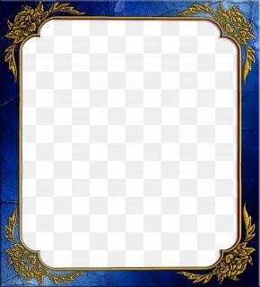 Blue Frame - Picture Frame PNG