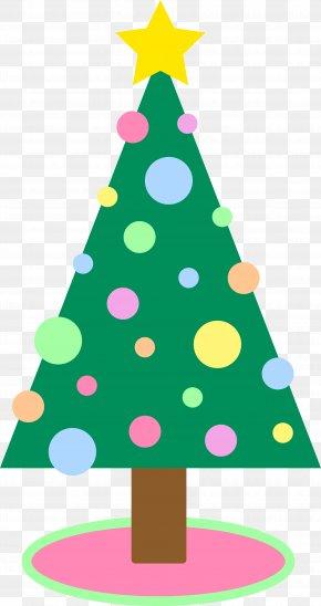 Cute Holiday Cliparts - Santa Claus Christmas Tree Christmas Ornament Clip Art PNG
