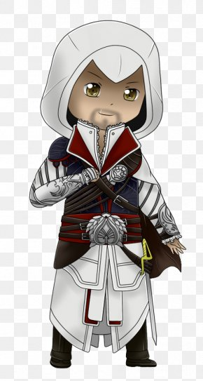 Ezio Auditore Assassin's Creed II Cartoon Drawing PNG