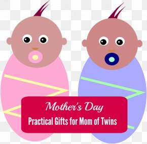 Mothers Day - Twins Days Mother's Day Infant PNG