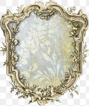 Design - Vintage Clothing Retro Style Picture Frames Paper PNG