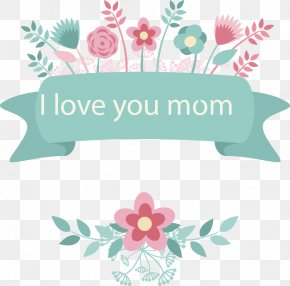 Mother's Day Floral Elements - China Mother's Day PNG