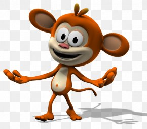 Funny Animated Animal Pictures - Monkey Animation Television Show Clip Art PNG