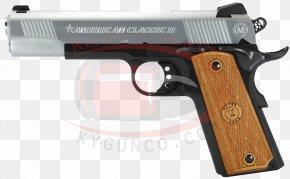 Handgun - .45 ACP Automatic Colt Pistol Firearm Handgun PNG