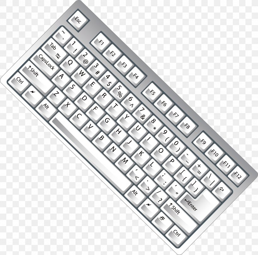 Computer Keyboard Numeric Keypad, PNG, 2473x2450px, Computer Keyboard, Computer, Computer Component, Computer Graphics, Computer Hardware Download Free
