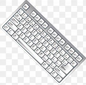 White Keyboard Computer Parts Vector - Computer Keyboard Numeric Keypad PNG