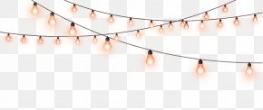 Decorative Light String - Light Lamp PNG