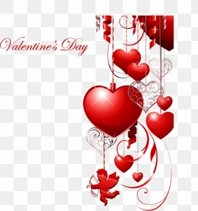 Saint Valentines Day - Valentine's Day Heart February 14 Clip Art PNG