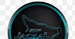 Jackal Logo - Electric Blue Logo Industrial Design Font PNG