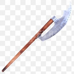 Double-edged Sword - Middle Ages Bardiche Battle Axe Weapon Pike PNG
