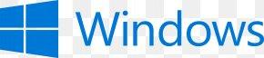 Windows Logos - Microsoft Computer Software Windows 10 PNG