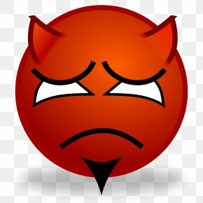 Devil - Devil Smiley Emoticon Emoji Clip Art PNG