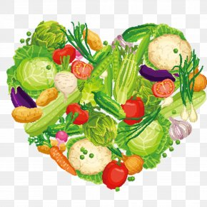 Vegetables 4 - Leaf Vegetable Vegetarian Cuisine Food PNG