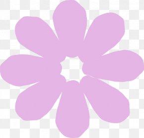Purple Flower - Cartoon Flower Drawing Clip Art PNG