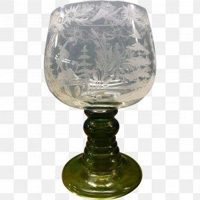 Glass - Glass Vase Pedestal Stemware Tableware PNG