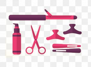 Hairdressing - Comb Hairdresser Beauty Parlour PNG