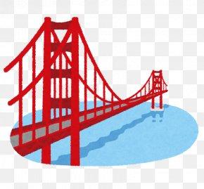 Golden Gate Bridge - Golden Gate Bridge Text Clip Art PNG