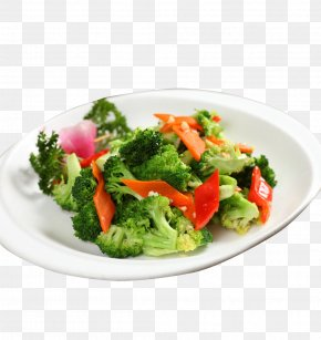 Fried Broccoli Picture Material - Broccoli Eating Food Vegetable Cauliflower PNG