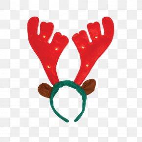 Reindeer - Reindeer Santa Claus Antler Christmas PNG