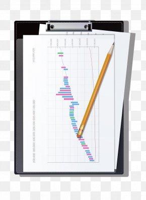 Folder - Paper File Folder Pencil Illustration PNG