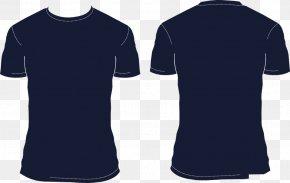 Navy Shirt Cliparts - T-shirt Polo Shirt PNG