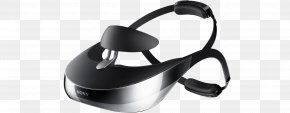 VR Headset - Head-mounted Display Virtual Reality Headset HMZ-T1 Sony Computer Monitors PNG