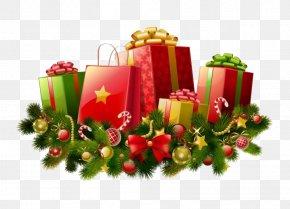 Christmas Gift File - Santa Claus Christmas Gift Christmas Gift PNG