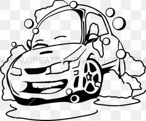 Car Wash - Car Wash Line Art Drawing PNG