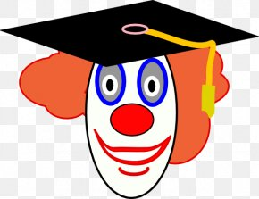 Children Graduation Clipart - Evil Clown Cartoon Clip Art PNG