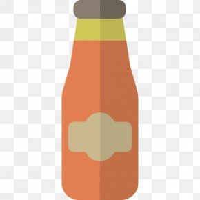 Drink - Soft Drink Beer Bottle French Fries Hamburger PNG