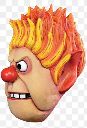 Heat Miser - Heat Miser The Year Without A Santa Claus Corvus Clothing And Curiosities Nose Mask PNG