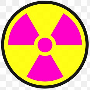 Nuclear Power Symbol - Radiation Hazard Symbol Radioactive Decay Clip Art PNG