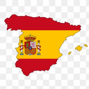 Spain - Flag Of Spain Map National Flag Flag Of Iran PNG