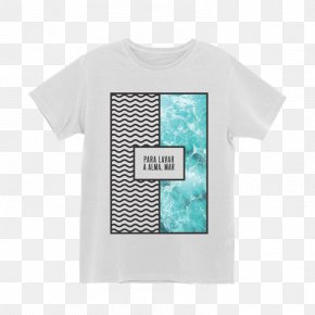 T Shirt Branca - T-shirt Sleeve Pattern Font Product PNG