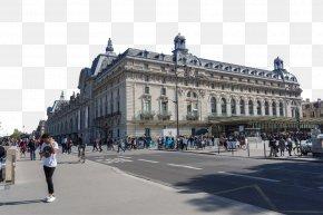Paris Louvre Building Scenery - Musxe9e Du Louvre Eiffel Tower Tourist Attraction Tourism PNG