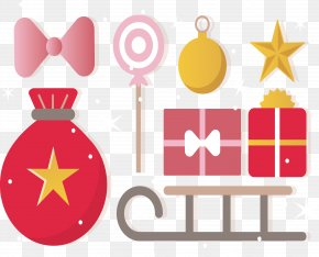 Vector Holiday Gift - Euclidean Vector Gift Christmas Clip Art PNG