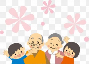 Thick Respect For The Elderly - National Grandparents Day Respect For The Aged Day Grandchild PNG