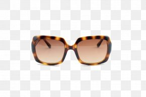 Square Brown Leopard Sunglasses - Sunglasses Brown Goggles PNG