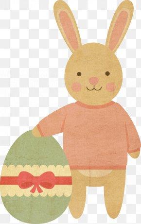 Elephant Rabbit - Easter Bunny Easter Egg Easter Postcard Rabbit PNG