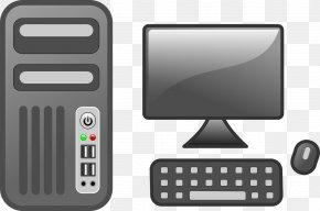 Desktop Computer - Desktop Computer Computer Monitor Clip Art PNG