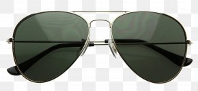 Aviator Sunglass File - Aviator Sunglasses Military Eyewear PNG