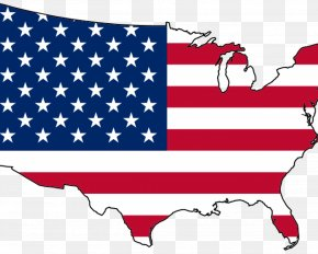 Picture Of The 13 Colonies Map - Flag Of The United States Map Clip Art PNG