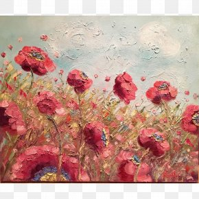 Design - Floral Design Acrylic Paint Still Life Watercolor Painting Modern Art PNG