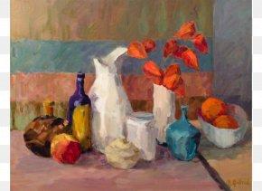 Still Life - Still Life White Painting (Three Panel) Art Oil Paint PNG