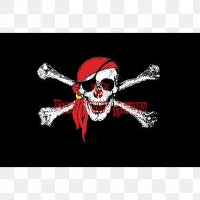 Flag - Jolly Roger Flag Of Wales Piracy Bandana PNG