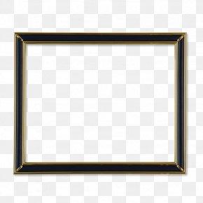 Black Frame - Picture Frame Area Pattern PNG