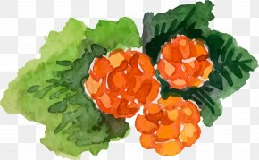 Hand Painted Watercolor Berries - Frutti Di Bosco Icon PNG