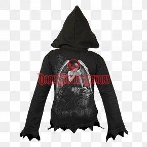 T-shirt - Hoodie T-shirt Zipper Jacket PNG