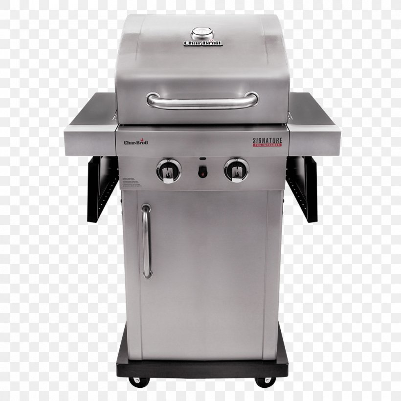 Barbecue Grilling Char-Broil Signature 4 Burner Gas Grill Propane, PNG, 1000x1000px, Barbecue, Brenner, Charbroil, Charbroil Gas2coal Hybrid, Charbroiler Download Free